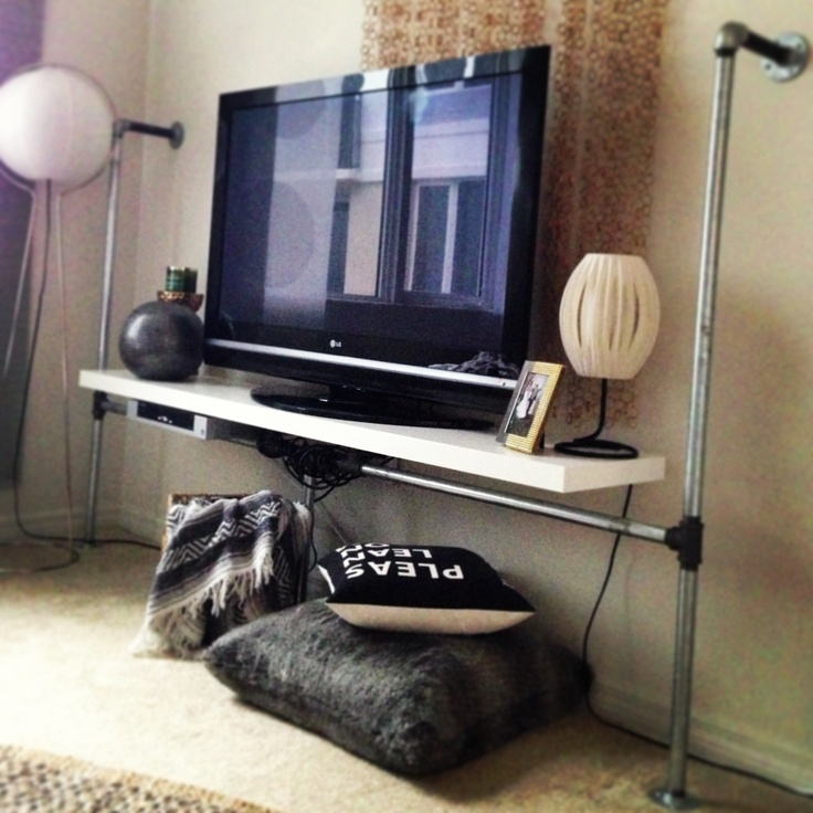 Industrial Tv Stand Ikea Hack Creative Minds