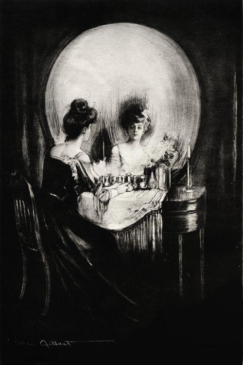 Charles Allan Gilbert- All is Vanity(1892)... Regardez bien il n'y a pas que la tête de mort