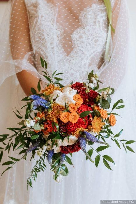 Bouquet Colorati Sposa.Bouquet Da Sposa Estivo 12 Proposte Esclusive Con Immagini