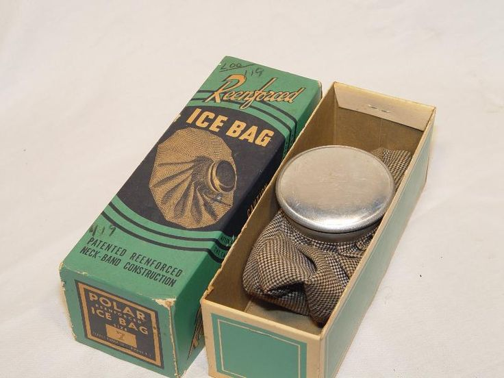 Ice bag - my favorite style - I have one of the newer models now!