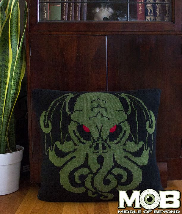 Cthulhu Lovecraft Pillow Cover