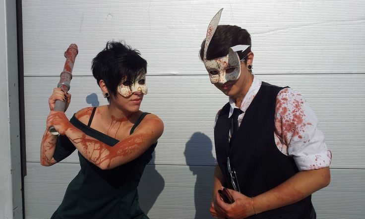 Splicers Bioshock (Joey&Moxie Logan- Giorgia Errera), Roma Romix 2014