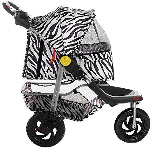 Merax Zebra Stripe Three Wheels Pet Dog Cat Stroller Trav... https://www.amazon.com/dp/B0171PMD74/ref=cm_sw_r_pi_dp_x_Bu9cybJRD9QWD