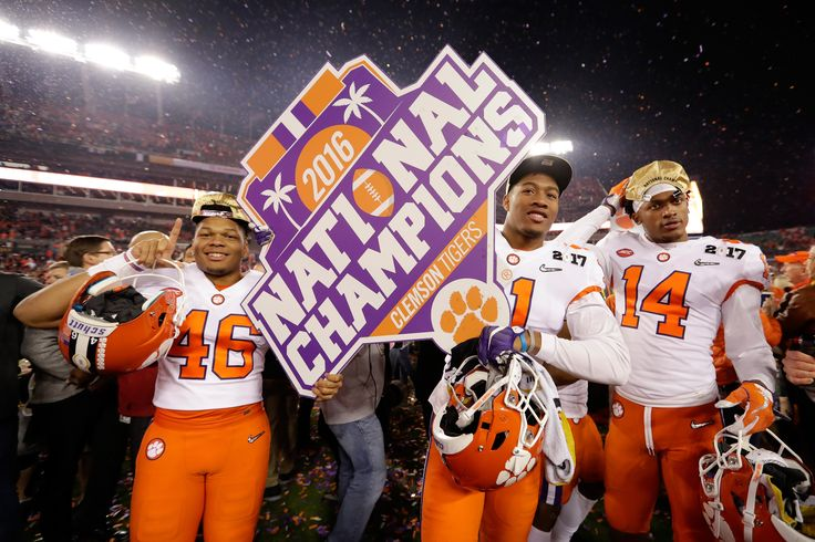 "Clemson Tigers Win The ""2016 College Football National ..."