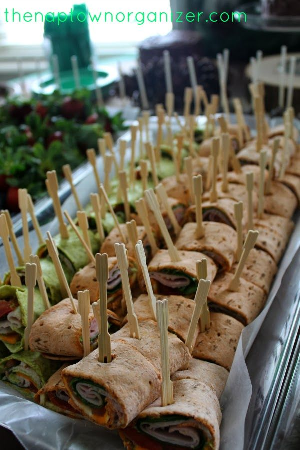 Homemade Turkey & Ham Spirals on Spinach/Tomato Rolls with Avocado Aioli - using GF wraps