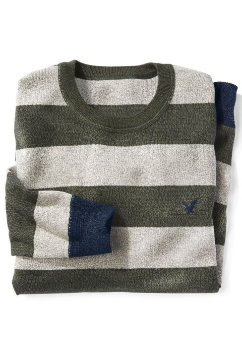 "GIFTS FOR GUYS - His new ""dressy"" sweater. Sweater, $45; ae.com. Click through for more unique Christmas gifts and presents for your husband."