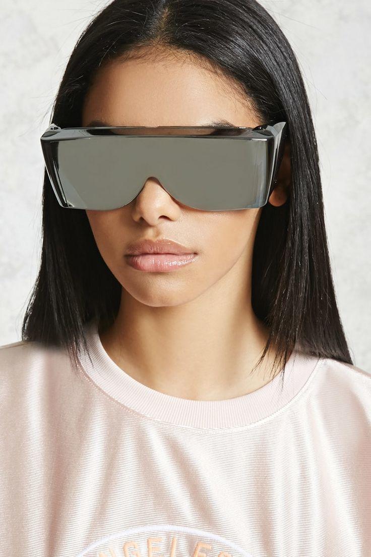 ミラーバイザーサングラス