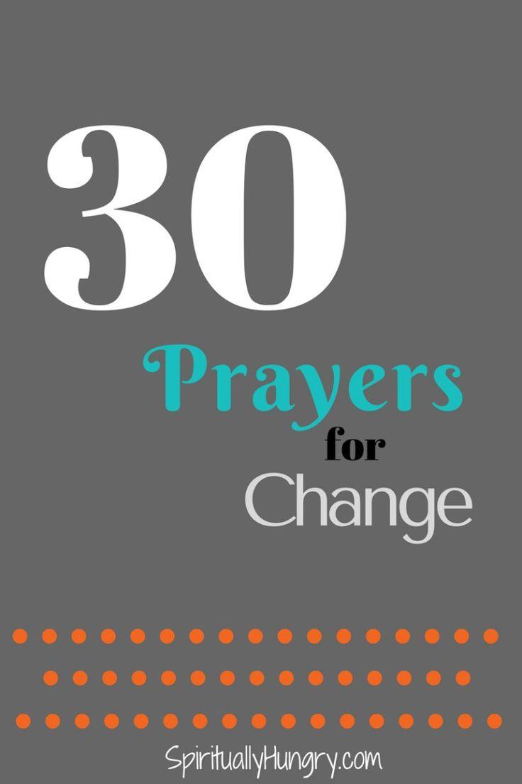 Prayers For Change   Prayer For Strength   Prayer For Healing
