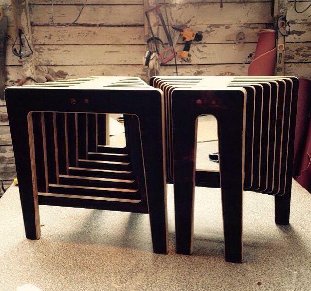#wood #plywood #design #bench #paut #pautworkshop #furniture #love