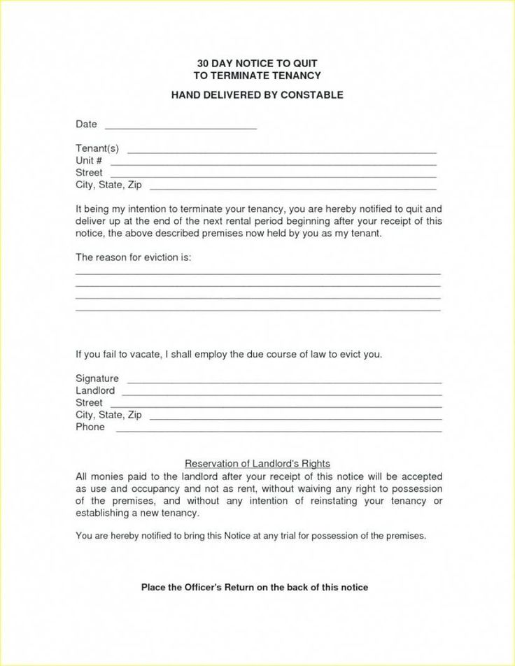 15+ Letter to landlord moving out 30 days ideas