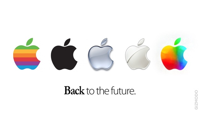With the release of the iPad 3 we saw Apple having some colorful fun with its logo a