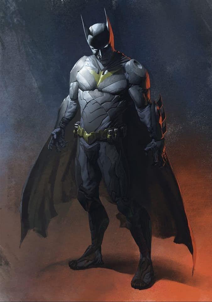 Injustice 2 Batman Concept Superhero Art Projects Batman Concept Art Batman Concept