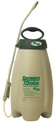 "Chapin 50020 Sprayers' Choice 2-Gallon Lawn and Garden Sprayer by Chapin. $37.87. Pressure release, splash guard. SureSpray anti-clog filter. Ergo pump/carry handle, ""no bend"" wand. Measure cup, spray shield, brass nozzle. From the Manufacturer                Chapin Smart Spray Intelligent 2-Gallon Sprayer. Our best value sprayer. Preferred features.                                    Product Description                Surespray anti-clog filter. Tools on board-measure cup a..."