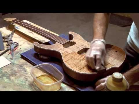 Applying Pure Tung Oil To A Guitar - Tronnixx in Stock - http://www.amazon.com/dp/B015MQEF2K - http://audio.tronnixx.com/uncategorized/applying-pure-tung-oil-to-a-guitar/