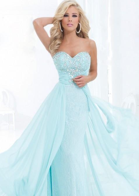 47 best wedding ♥ dresses (color) images on Pinterest | Wedding ...