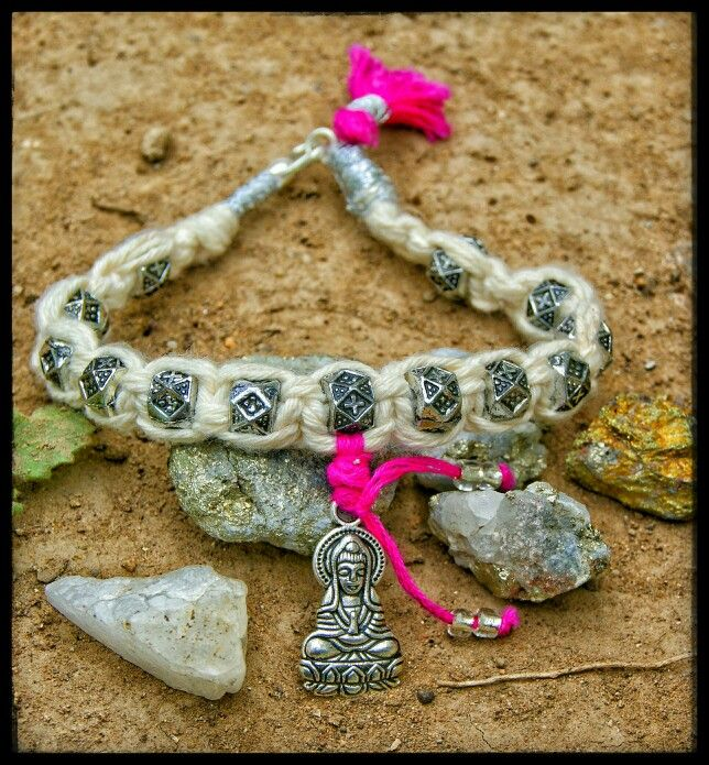 My buda bracelete is easy to make ❤