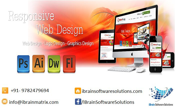 Contact now for Creative ‪#‎ResponsiveWebdesign‬ services. Email: info@ibrainmatrix.com Visit at http://www.ibrainsoftwaresolutions.com/website-designing/ ‪#‎Websitedesign‬ ‪#‎Logodesign‬ ‪#‎Graphicdesign‬