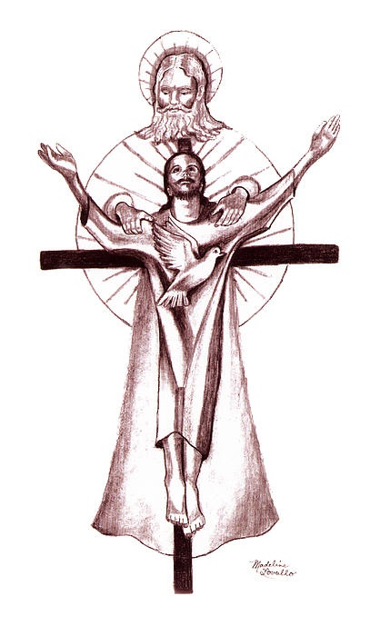 100 best images about holy trinity on pinterest for Are tattoos a sin catholic