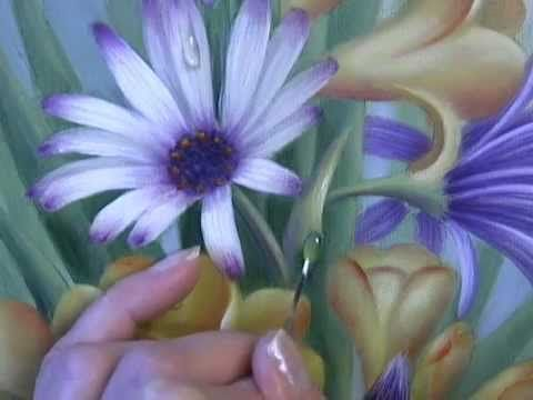 pintando margaridas - YouTube