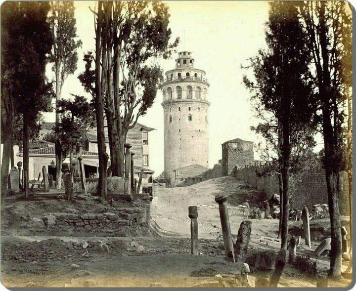 Galata kulesi,1862