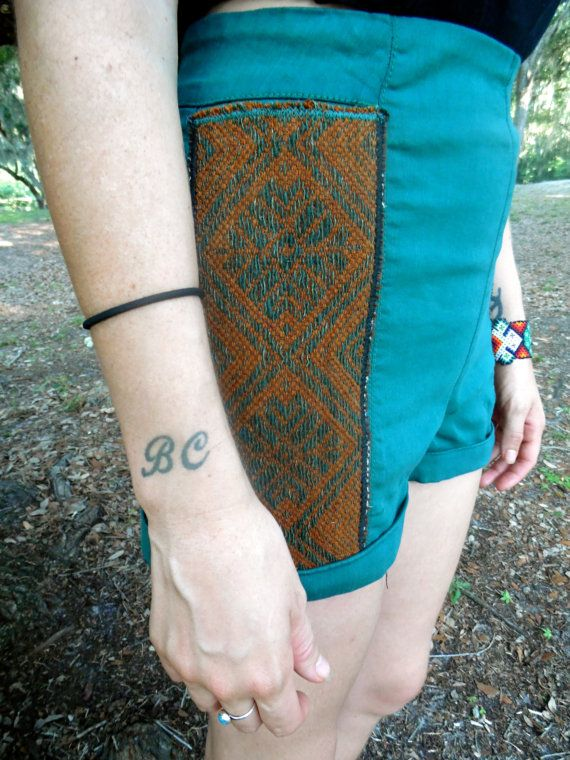 Check out this item in my Etsy shop https://www.etsy.com/listing/190675963/sale-tribal-high-waisted-zip-back-gypsy