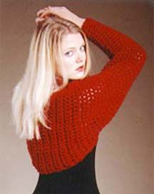 Free pattern from the Yarn Council - Crochet Shrug