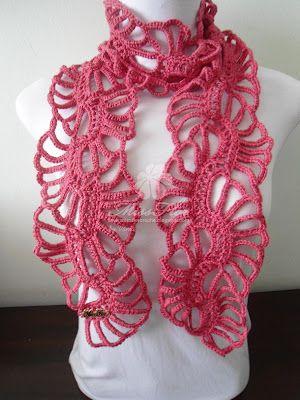 Miss Flor Croche: Cachecol