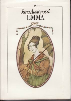 Book cover for Czech edition of Jane Austen's Emma by Adolf Born