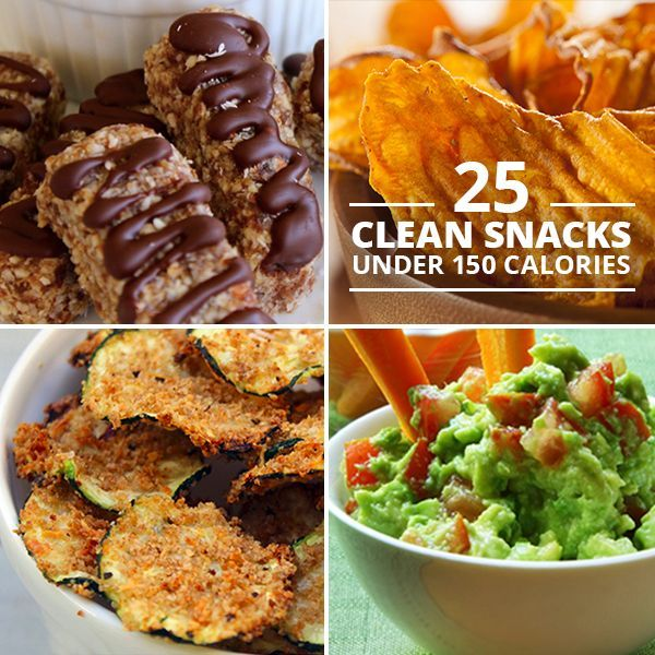 25 Clean Snacks Under 150 Calories - lose weight and stay healthy by choosing snacks that nourish your body!  #cleaneating #cleansnacks #healthysnacks #lowcalorie