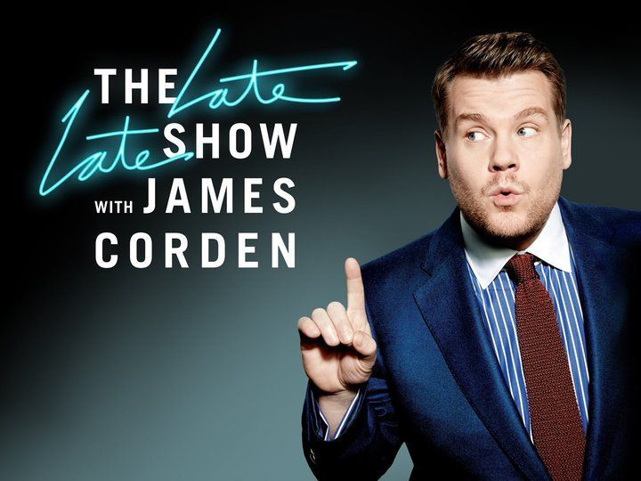 The Late Late Show With James Corden~ I ♥ James Corden!!!