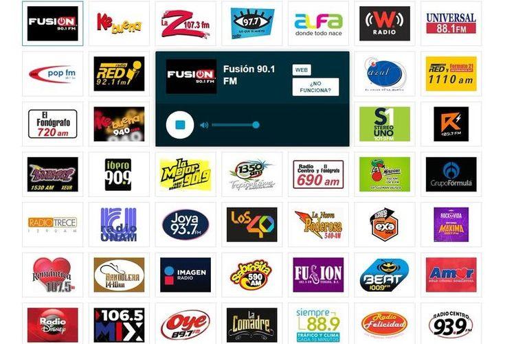 Escuchar Radios Online Y Estaciones De Radio Por Internet En Directo Emisoras Radio Por Internet Estaciones De Radio