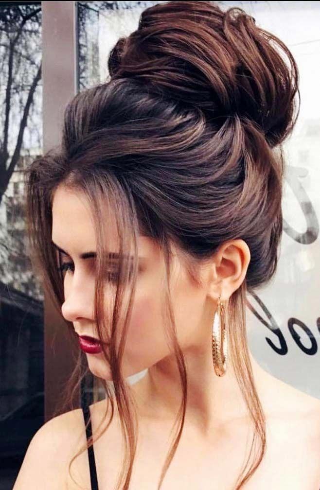 Bun Hairstyle For Black Women Bun Hairstyle Easy Bun Hairstyle For Long Hair Updo Bun Hairstyl Elegante Frisuren Partyfrisur Lange Haare Frisur Hochgesteckt