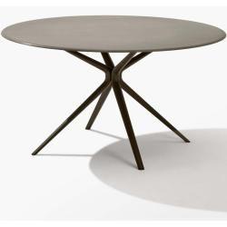 Fast Moai Tisch rund weiß