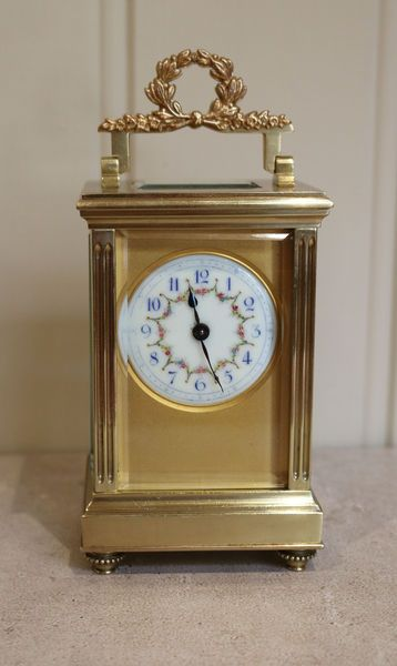 French Empire Carriage Clock