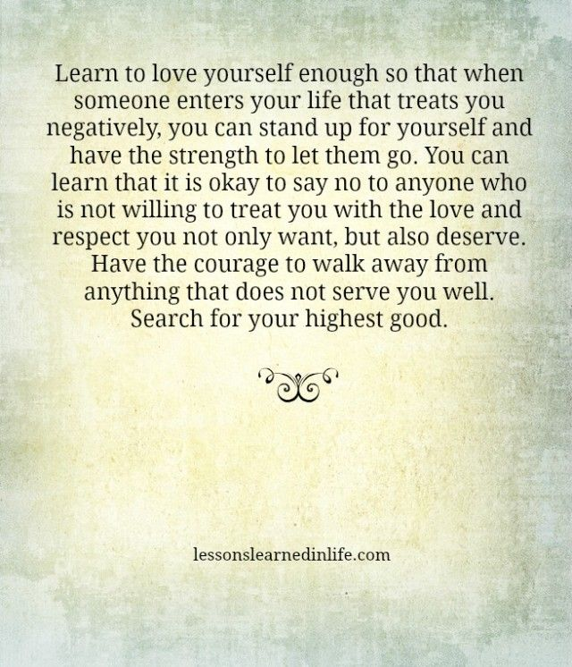 Learn to Love Yourself Enough: 7 Steps to Improving Your ...