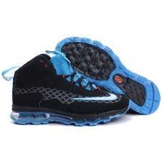 Buy mens new nike air max ken griffey jr black/blue shoes