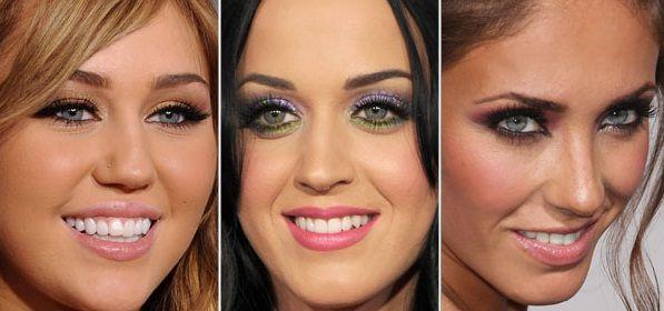 Olhos Verdes - Olhos verdes são, na verdade, uma mistura de pigmentos amarelados e azulados, por isso os olhos podem variar mais para o azul ou mais para o mel. Para iluminar esses lindos olhos, você pode usar tons mais neutros. •Aposte nos tons: Marrom, pêssego, ameixa, caqui, verde profundo e rosa. •Também poderá usar: Dourado, verde limão, roxo, lilás, acinzentado e preto. •Evite: Azul claro, Laranja.