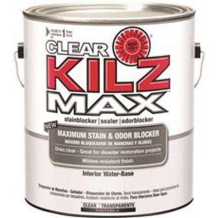 Kilz MAX Clear Interior Stain Blocker/Sealer/Odor Blocker