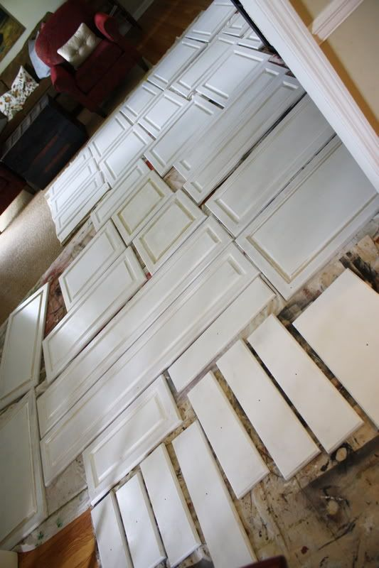 Peeling And Painting Thermofoil Cabinets Diy Decor
