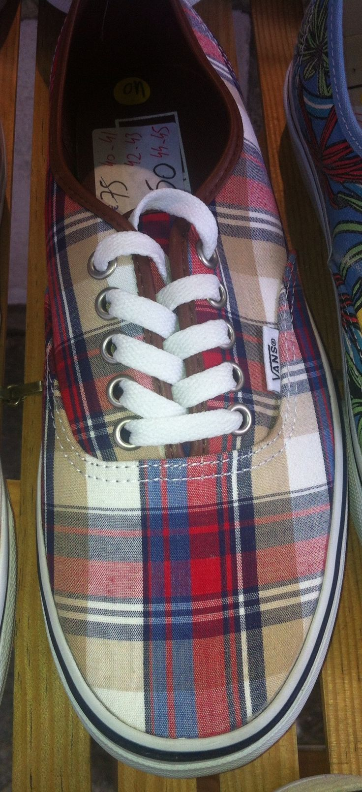 Tartan Tennis Shoes