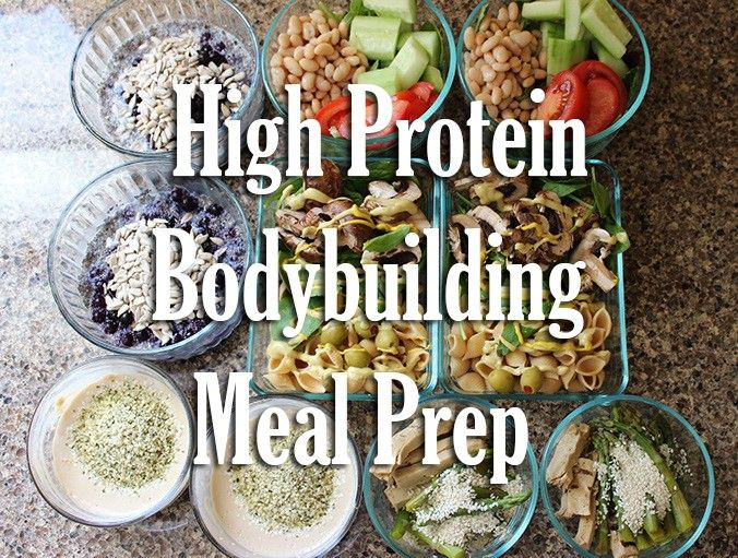 High Protein Vegan Bodybuilding Meal Prep http://www.hollybrownfit.com/articles/High_Protein_Vegan_Bodybuilding_Meal_Prep_2