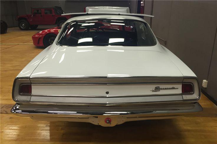 1968 PLYMOUTH BARRACUDA SS/AA FACTORY CAR.