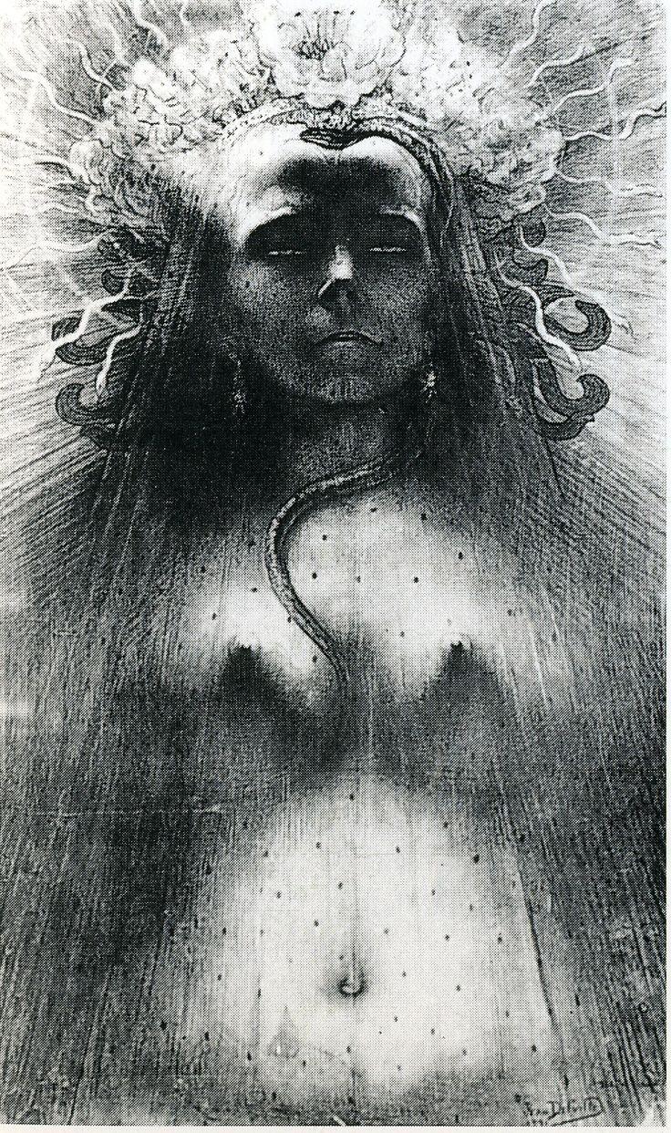 Jean Delville, Idol of Perversity, 1891