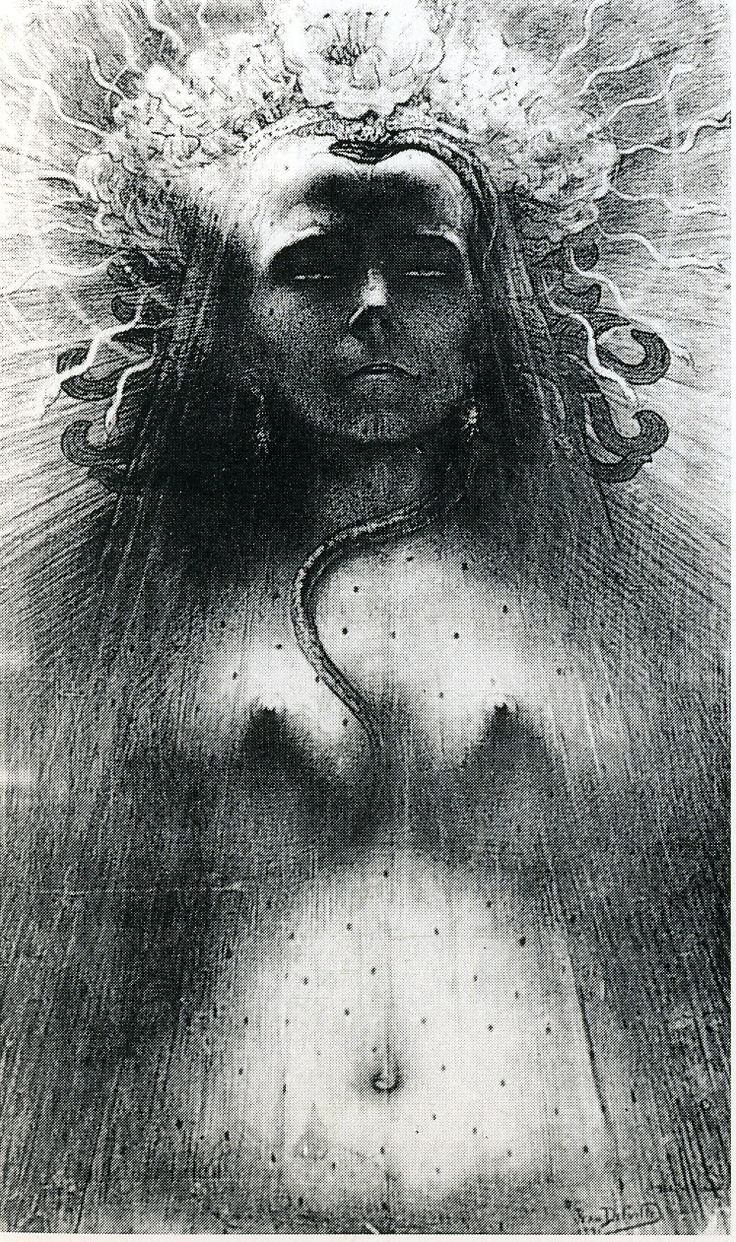 """From """"The Angel of the Odd: Dark Romanticism from Goya to Max Ernst,"""" Musée D'Orsay, Paris; Through June 9, 2013"""
