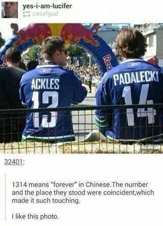 This is too freakin' cute!!!   1314 means forever in Chinese!
