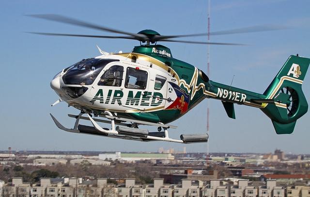 Eurocopter EC135 P2 -mN911ER, Acadian Air Med Services
