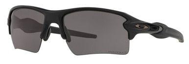 Oakley SI Flak Jacket 2.0 XL with Matte Black Frame and Prizm Grey Polarized Lens