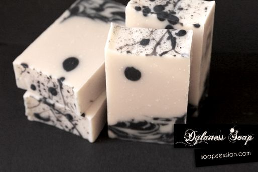 Soap Session:  Dynaless Soap - combination of spoon swirl, drop, and splatter.