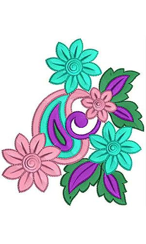 Attractive Fom Rubber Embroidery Patch Design