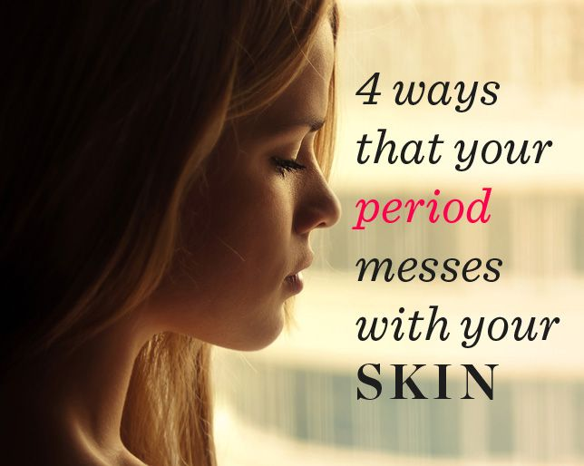 How Your Period Messes with Your Hair